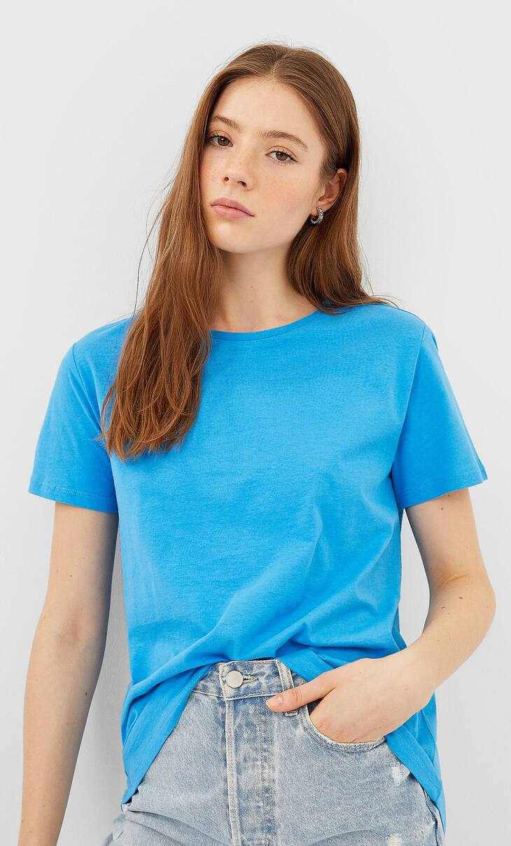 Basic asymmetric T-shirt