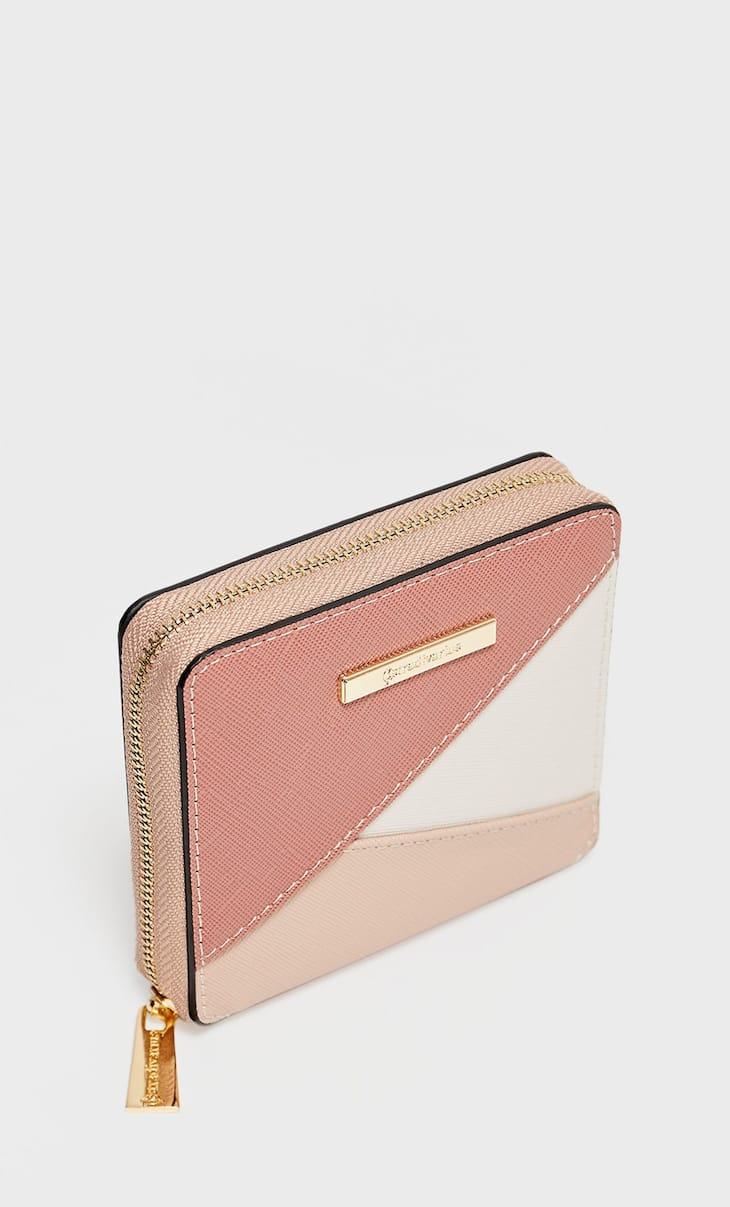 Square patchwork purse