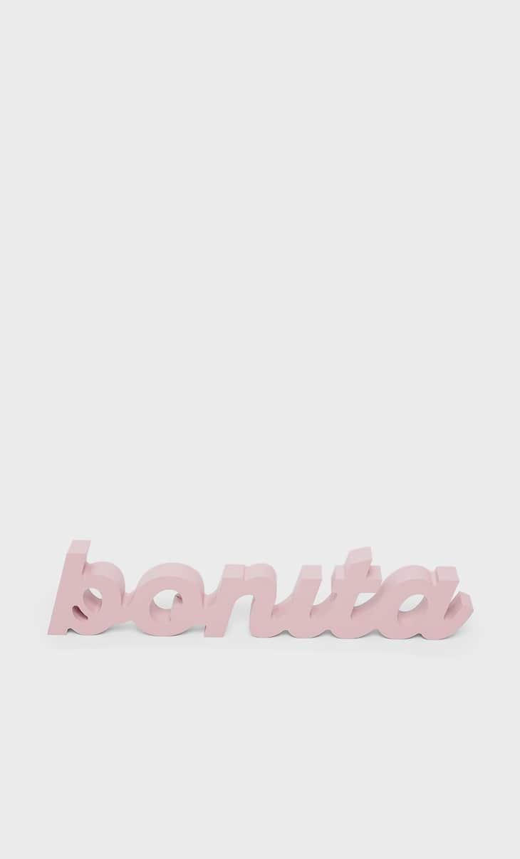 'Bonita' sign