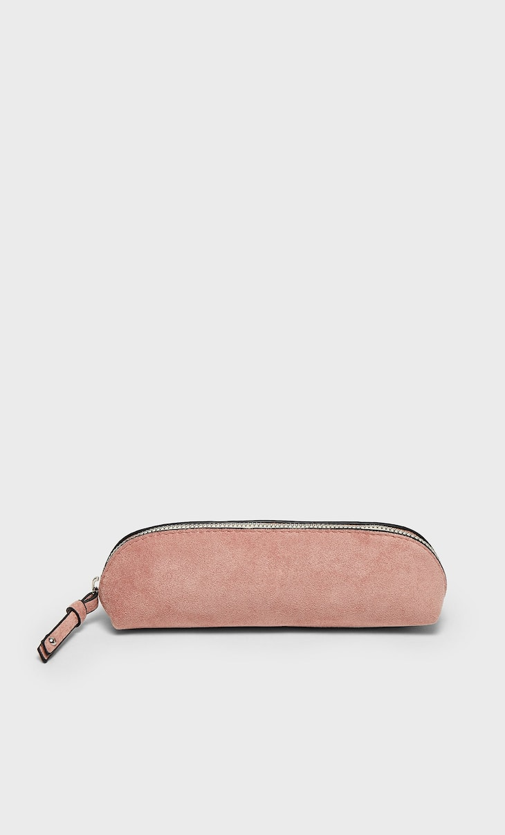 Zipped pencil case