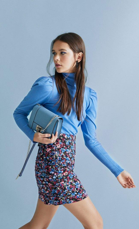 Ruched Mini Skirt Women S Fashion Stradivarius Azerbaijan