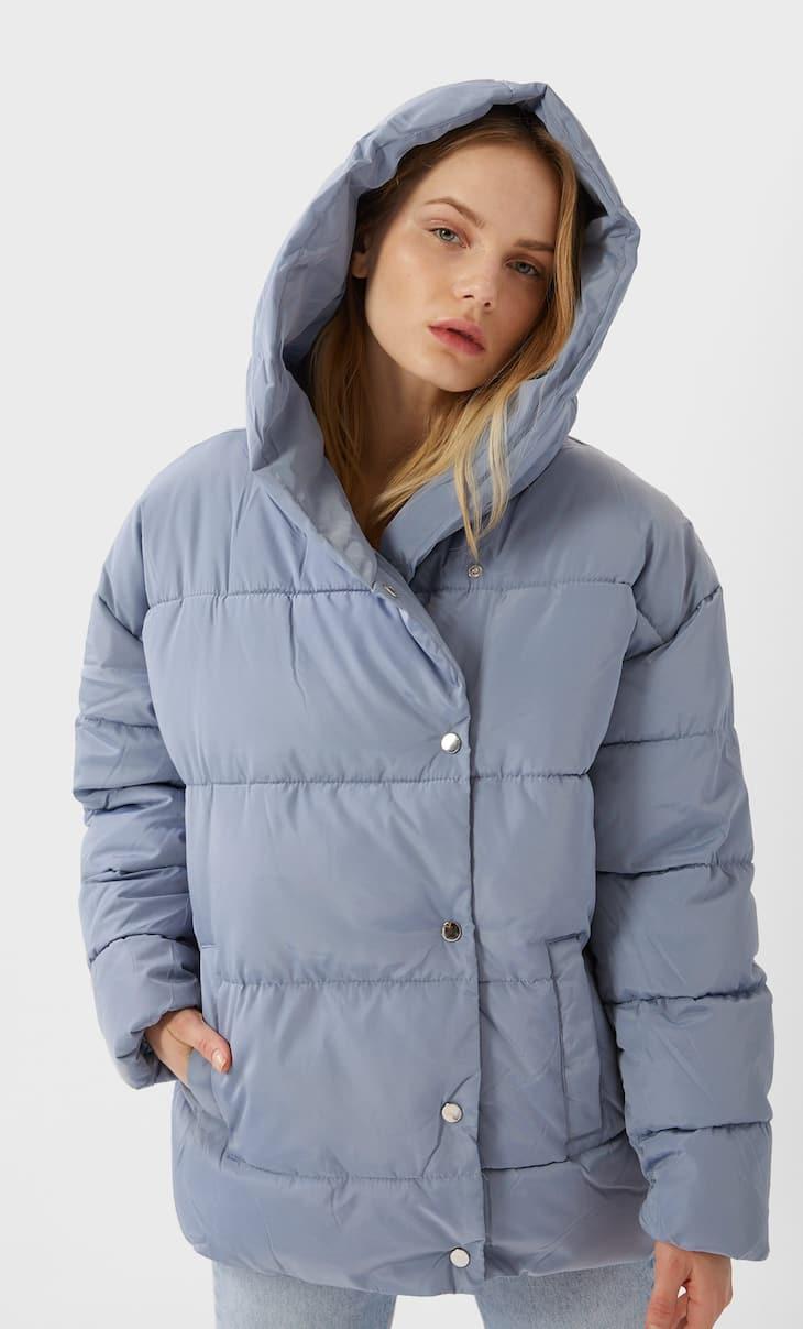 Куртка в стиле оверсайз