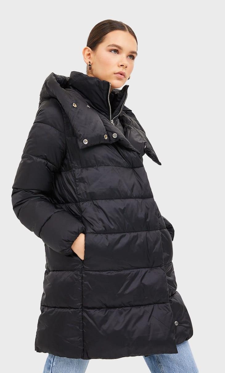 Abrigo doble cuello