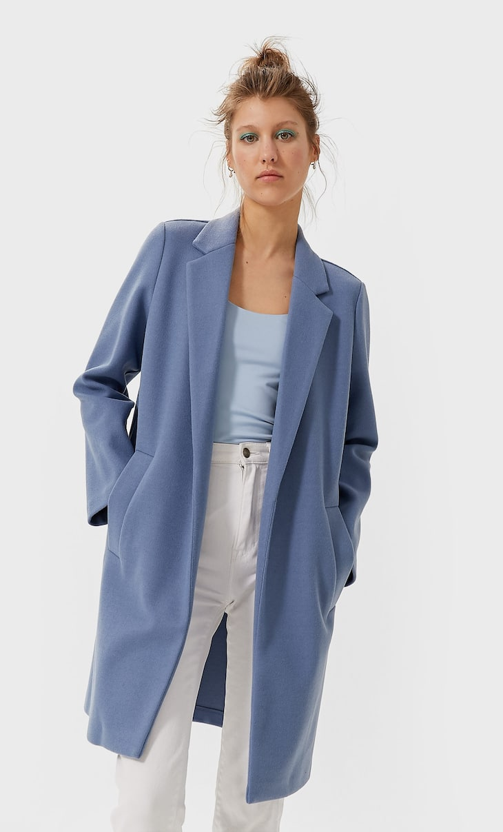 Palton din tricot