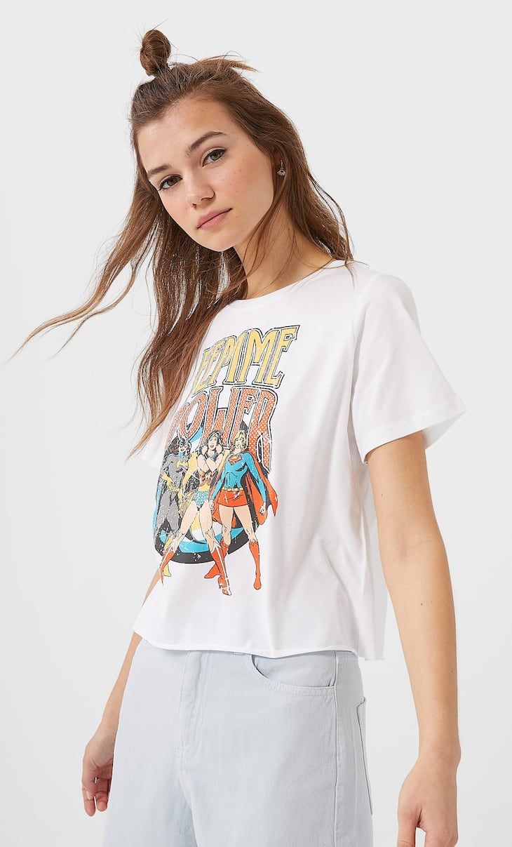 Retro Wonder Woman T-shirt