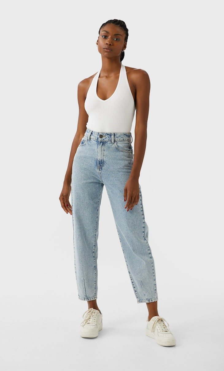 Slim slouchy jeans
