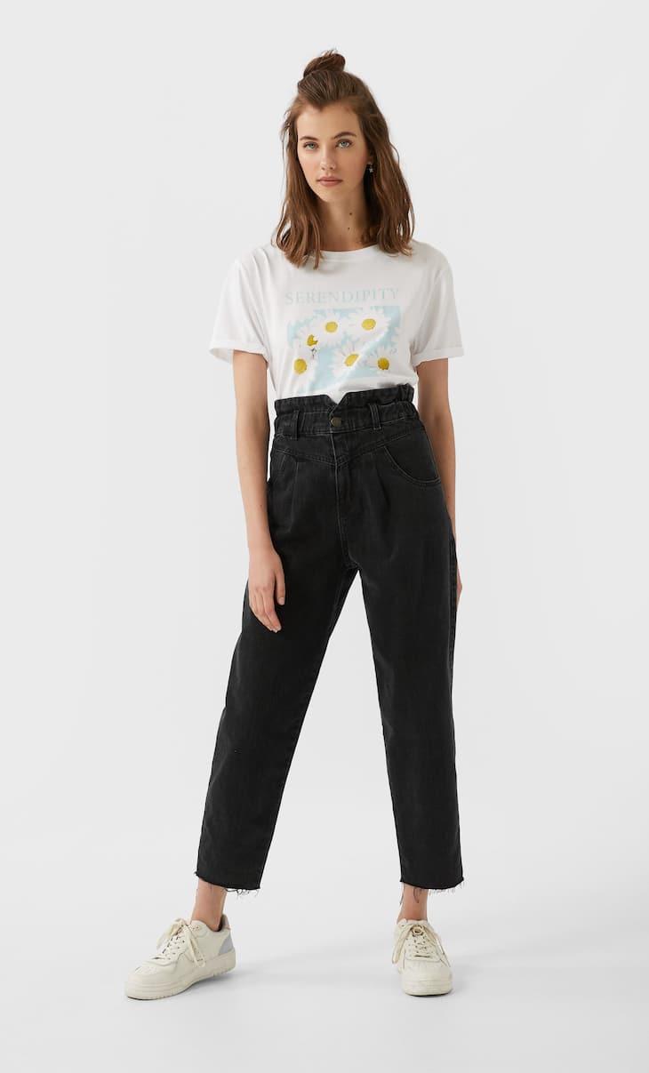 Paperbag-Jeans
