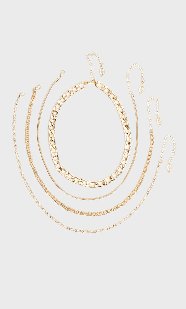 Set of 4 chains