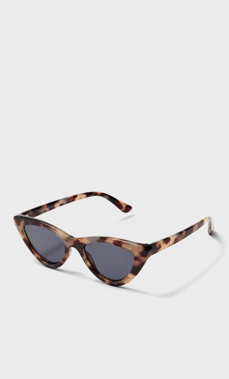 Tortoiseshell cateye sunglasses