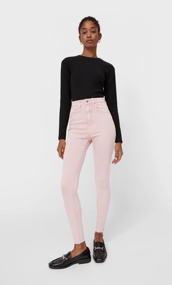 Jeans skinny super high waist