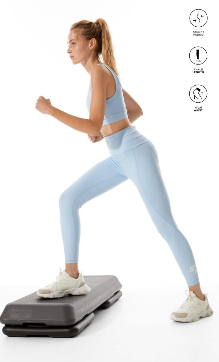 Legging olahraga pembentuk