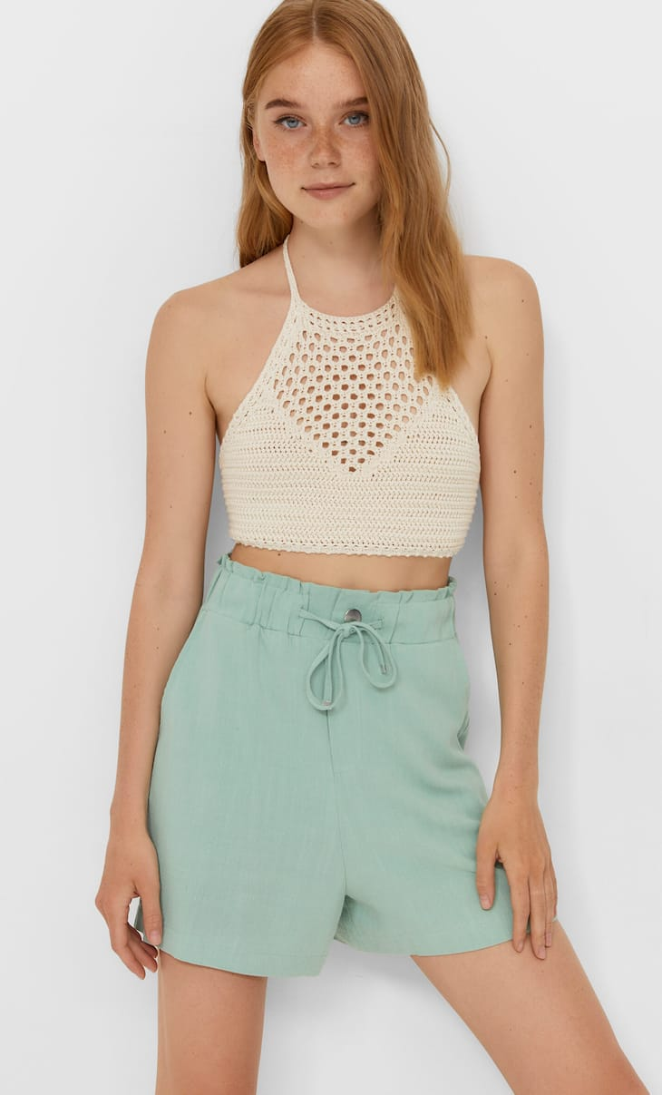 Flowing rustic shorts