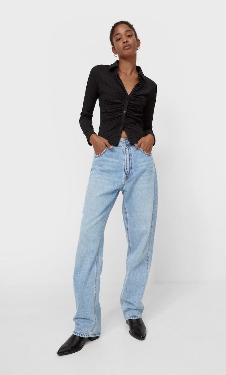 Jeans boyfriend loose