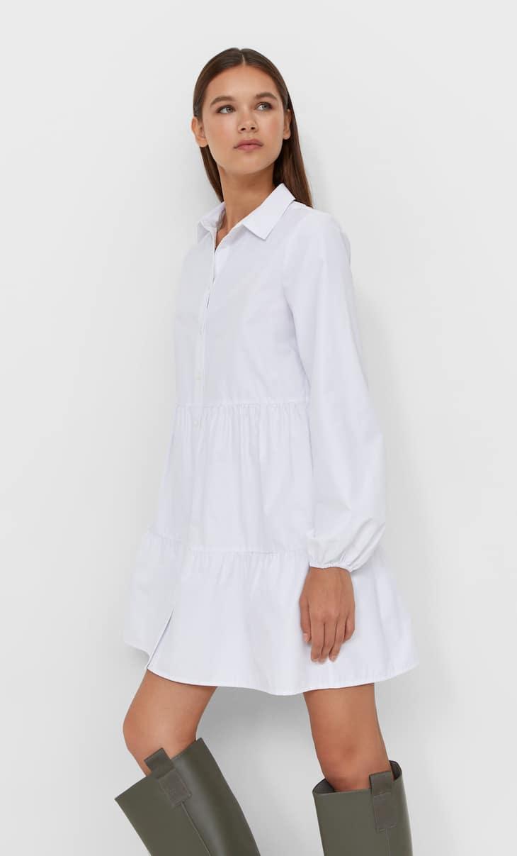Košulja-haljina popelin