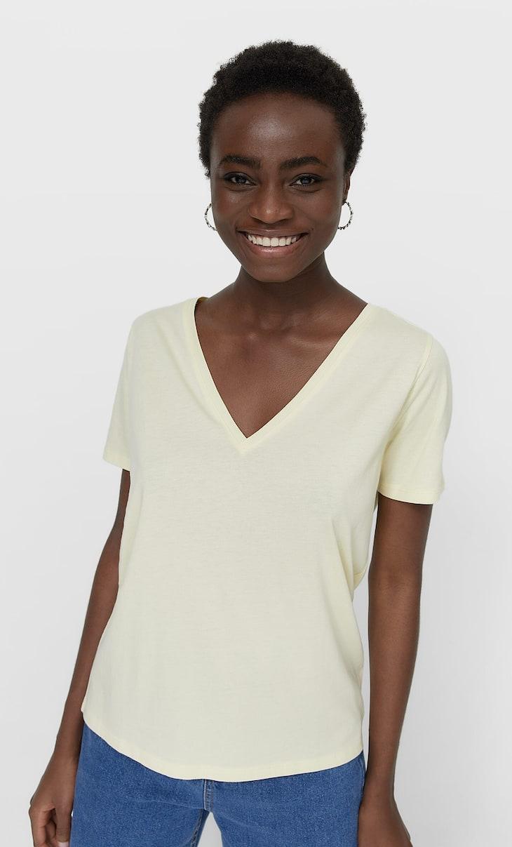 T-shirt basic col enV
