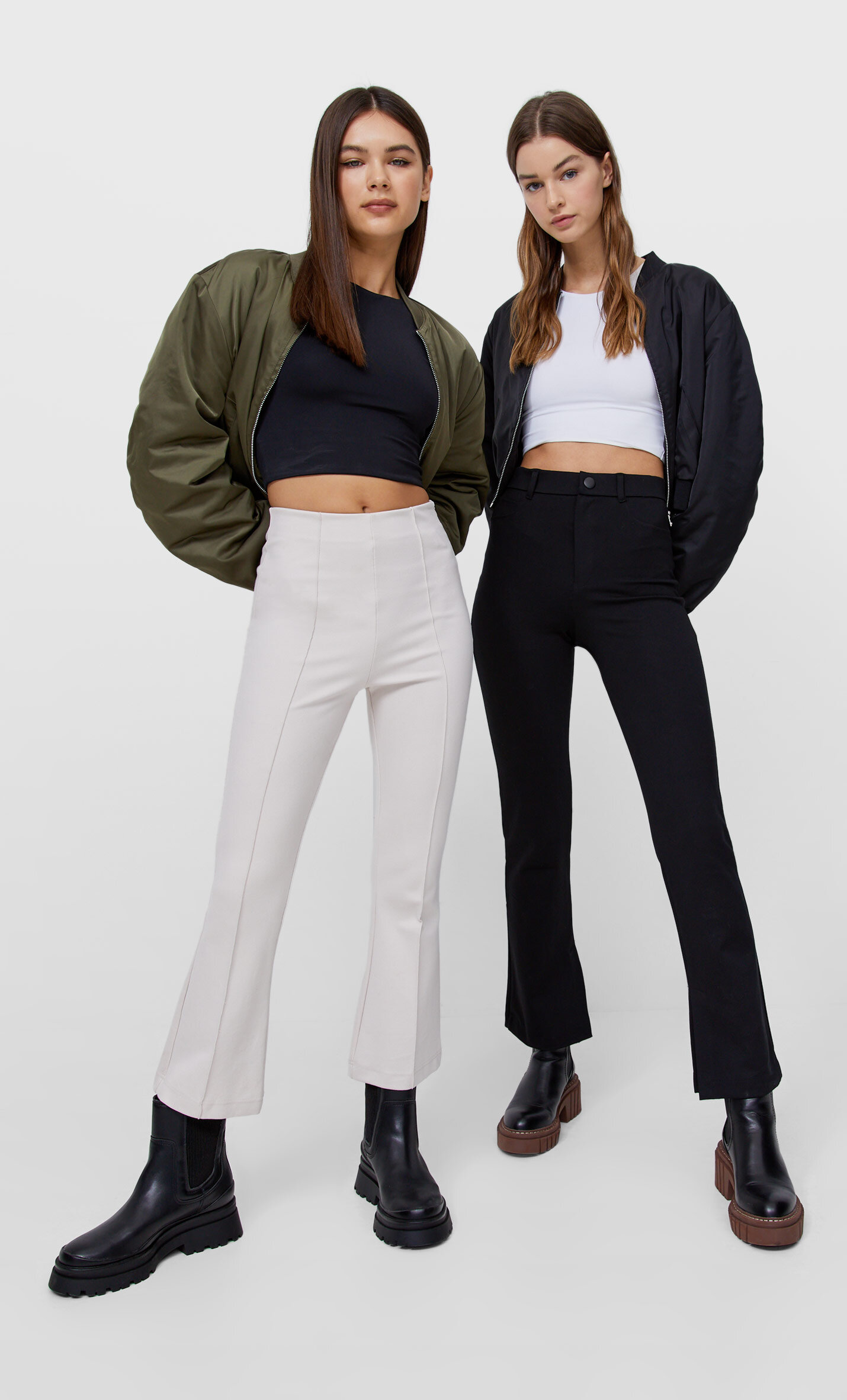 Pack 2 top cropped tirantes