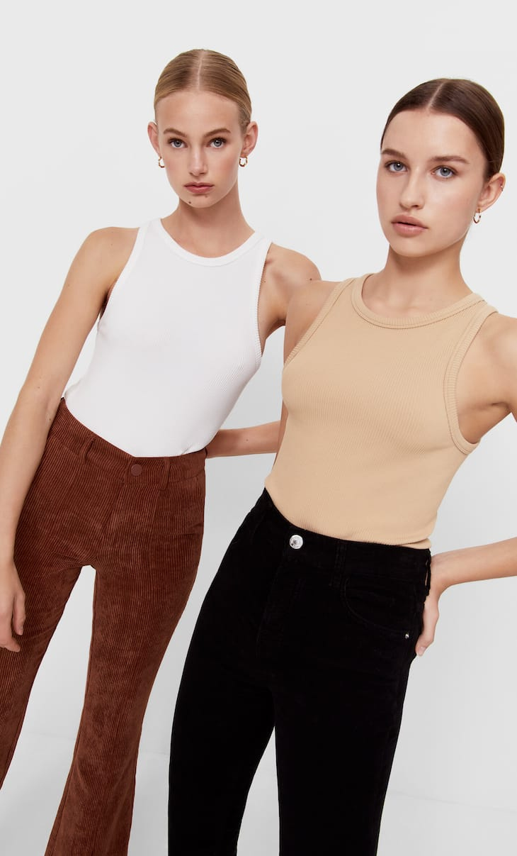 2-pack of seamless tops