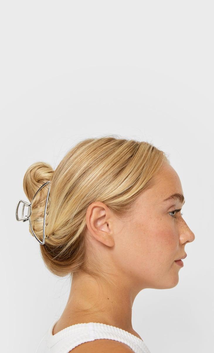 Metalowa klamra do włosów