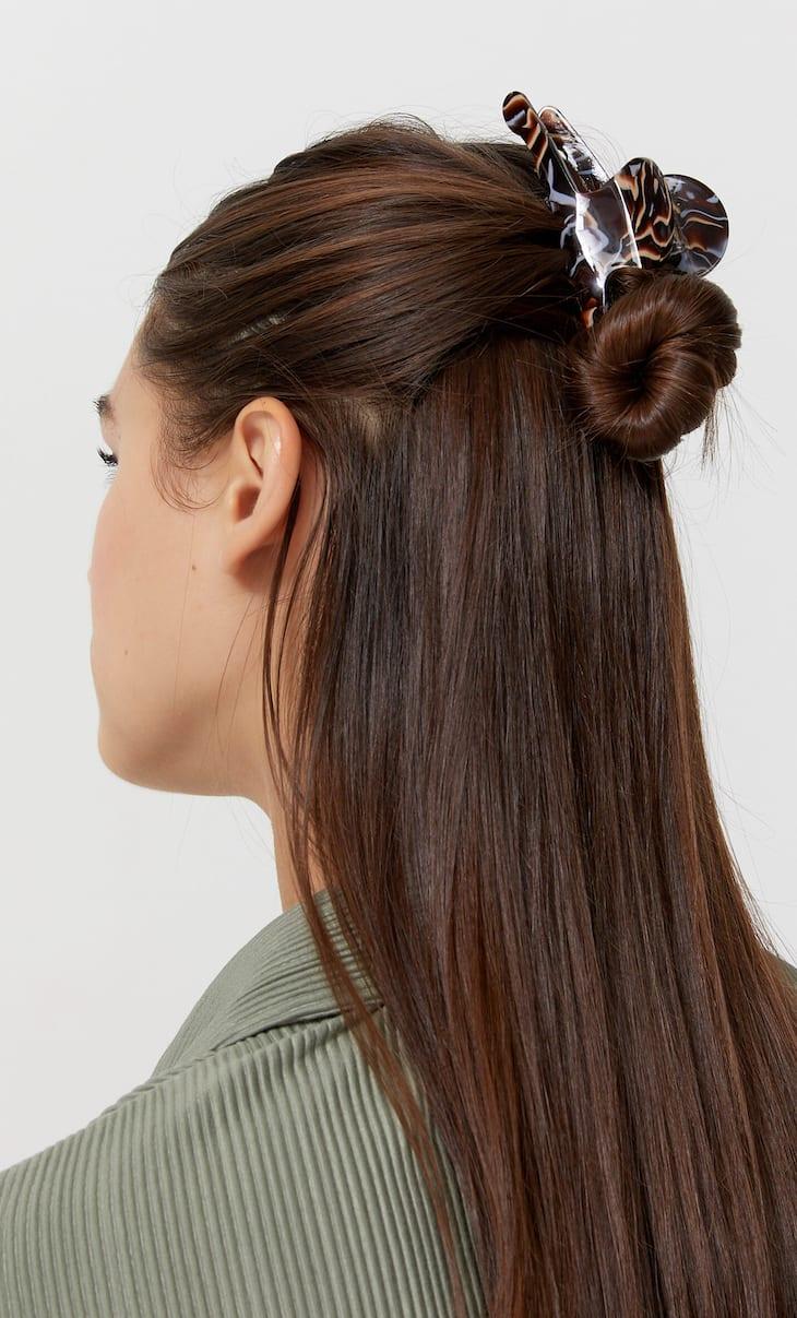 Geometric design hair clip