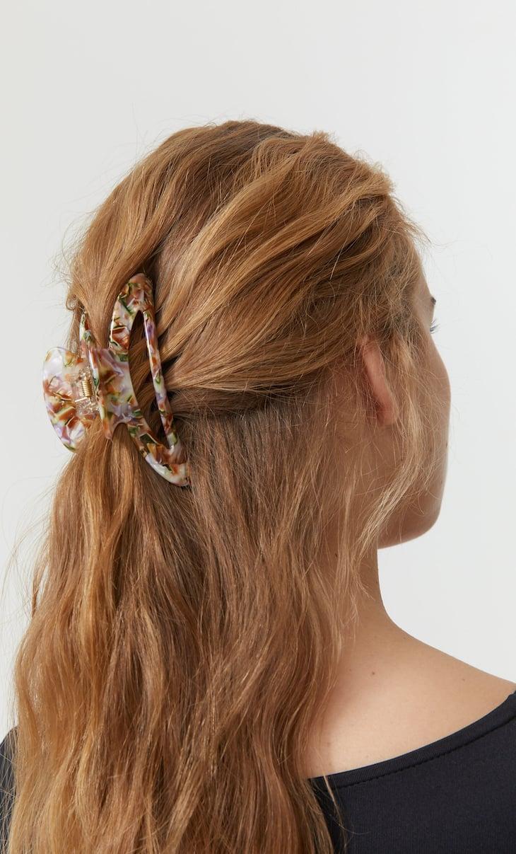 Multicoloured hair clip