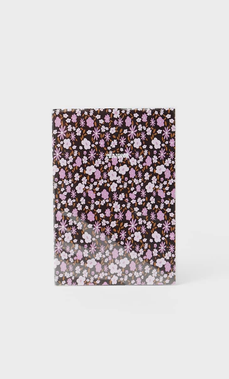 Terminkalender mit Blumen