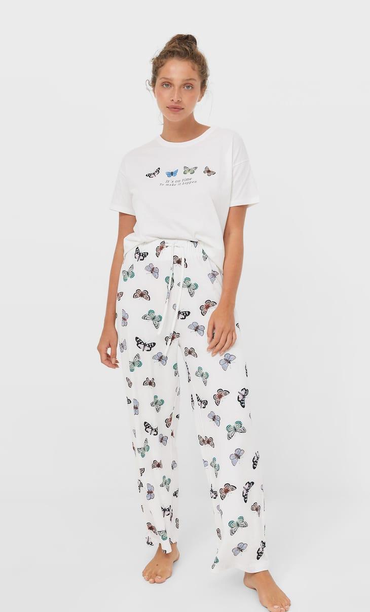 Majica od pidžame s uzorkom