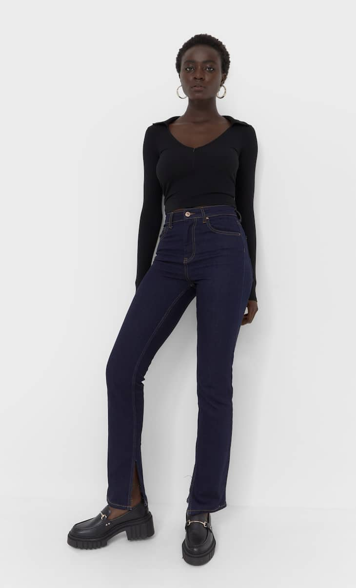 Jeans straight confort