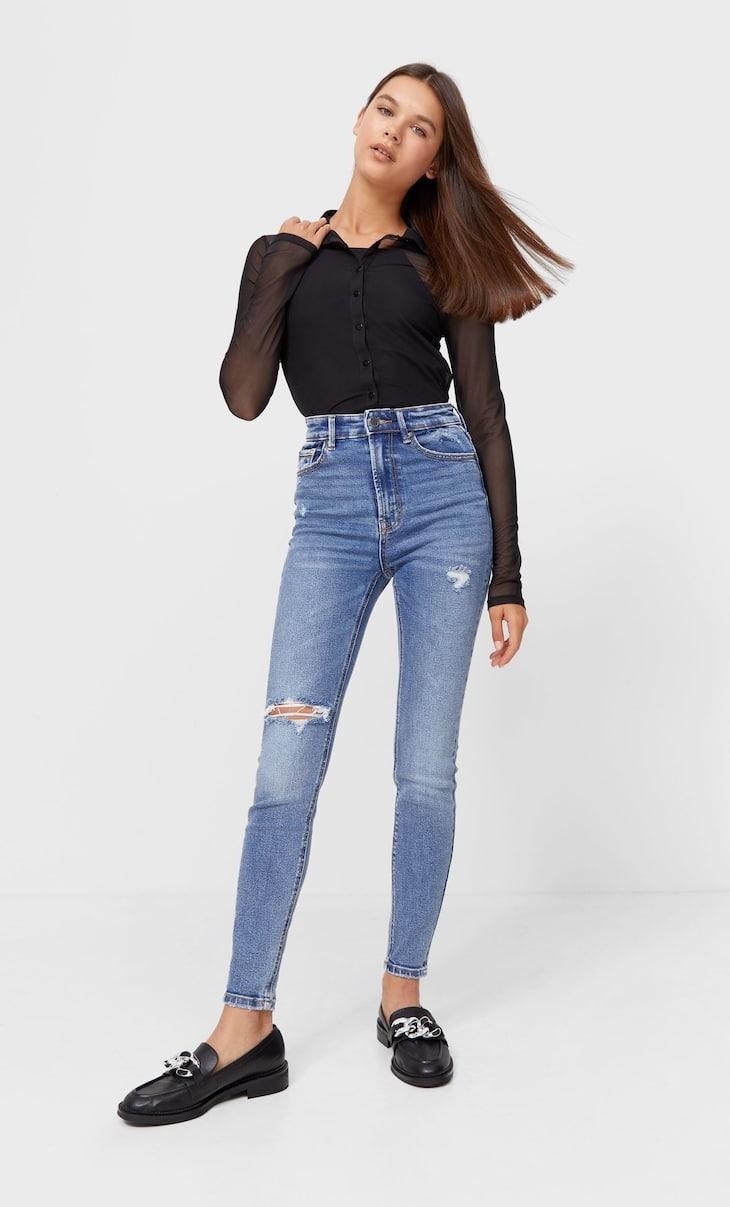 Super high waist premium jeans