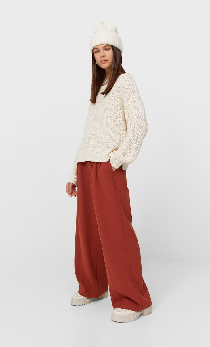 Jersey punto slouchy