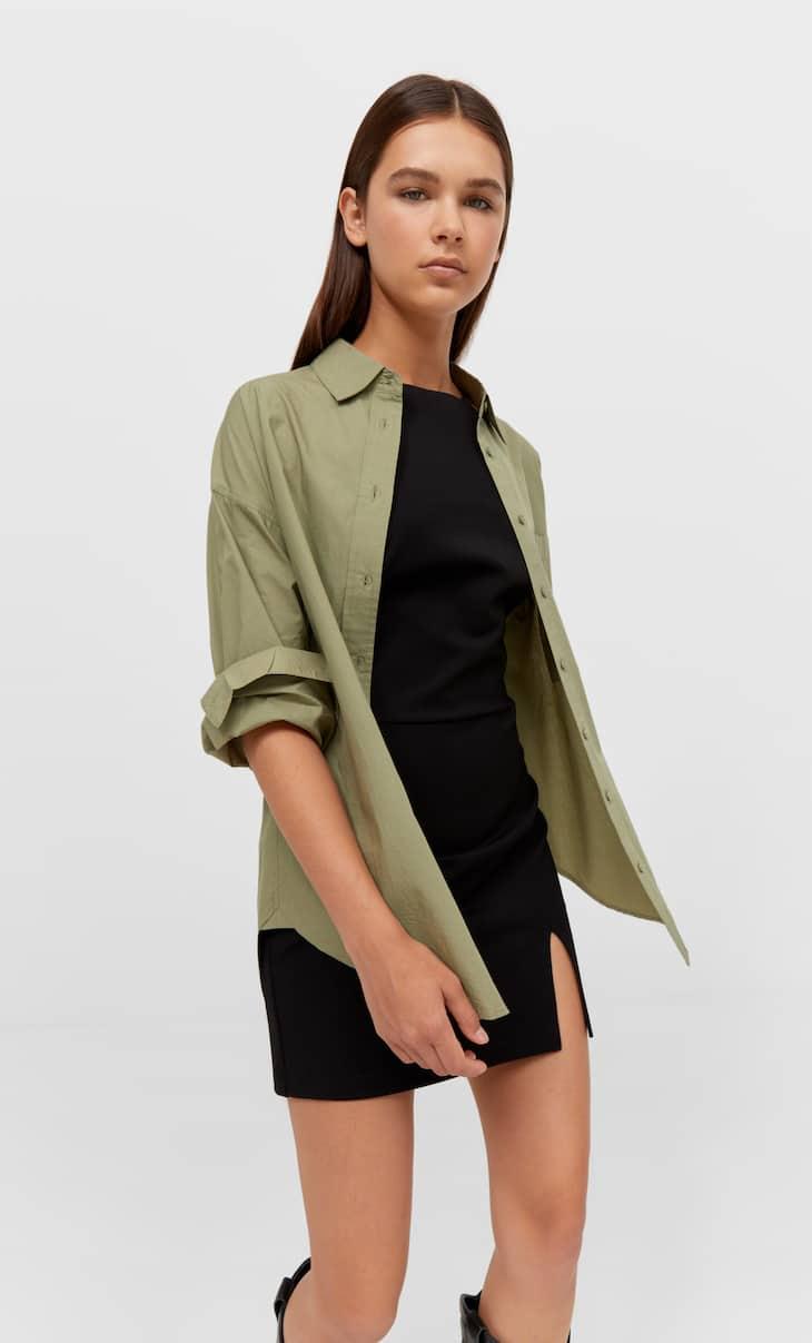 Straight-fit shirt