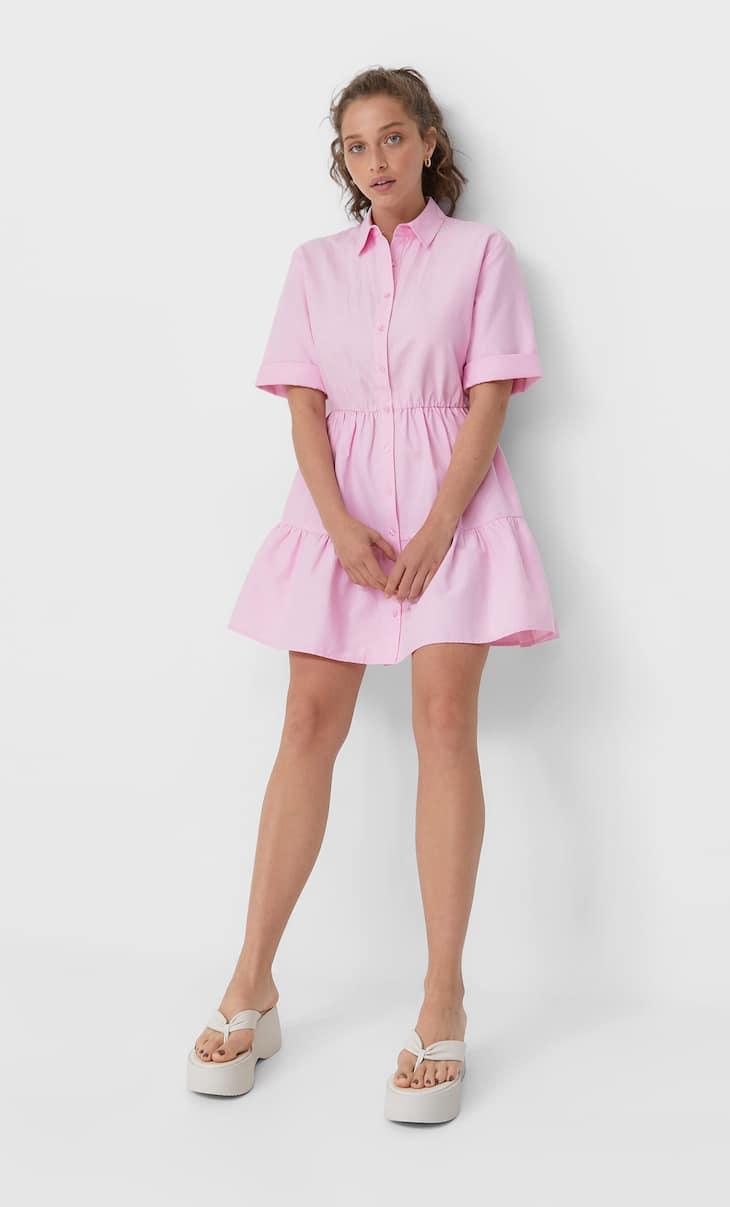 Kratka košulja-haljina