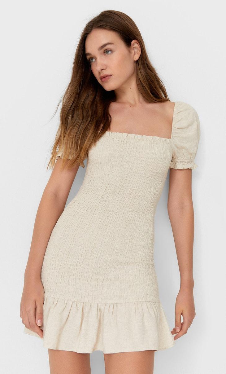 שמלה קצרה סטרץ'