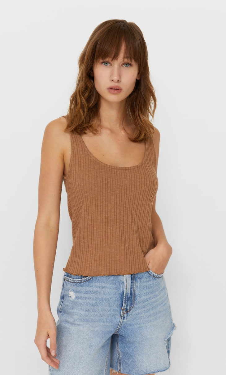 Rustic vest top
