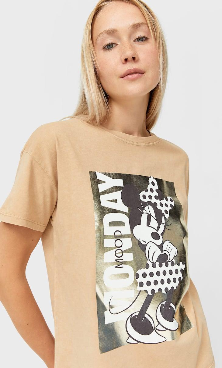 Disney-Shirt mit Foliendruck