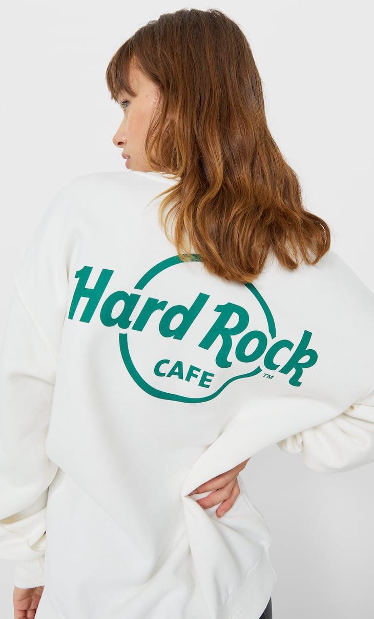 Oversize Hard Rock Cafe sweatshirt