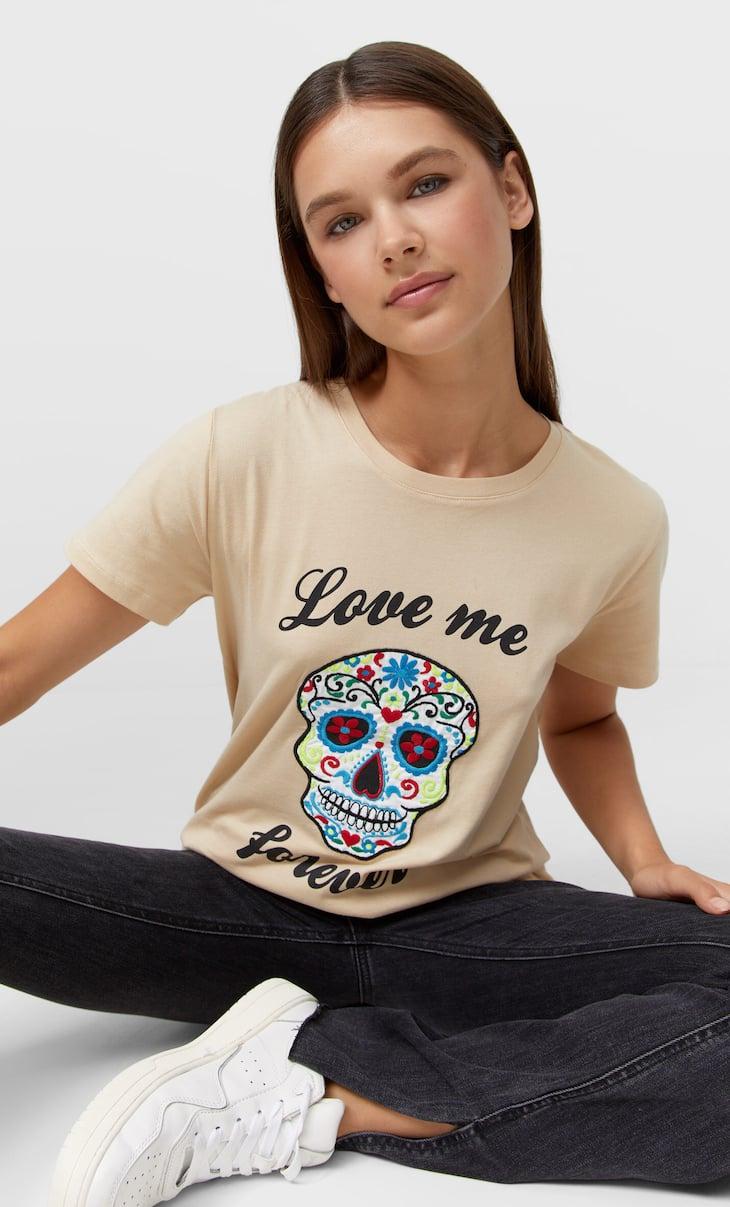 Camiseta día de muertos