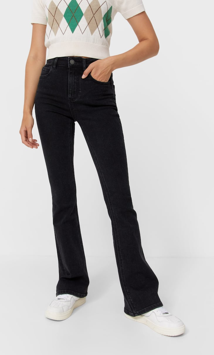 Jeans  flare low waist