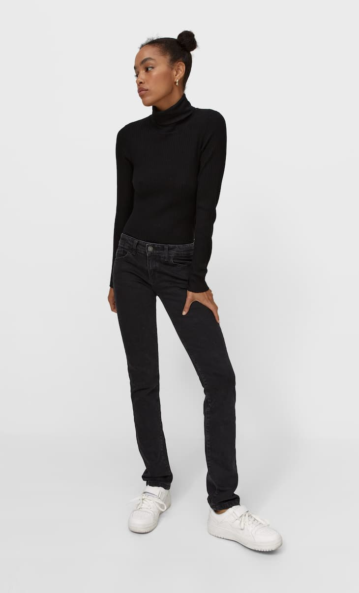 Sweater with cut-out back