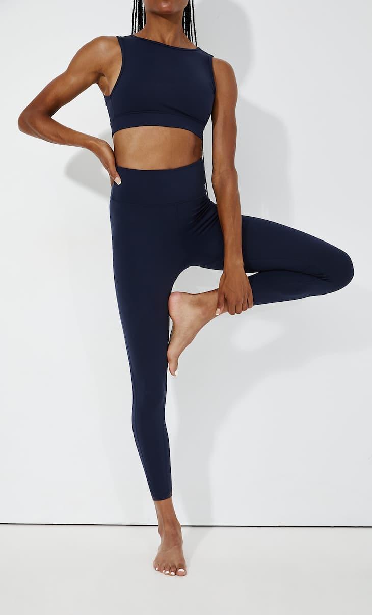Modelujące legginsy sportowe