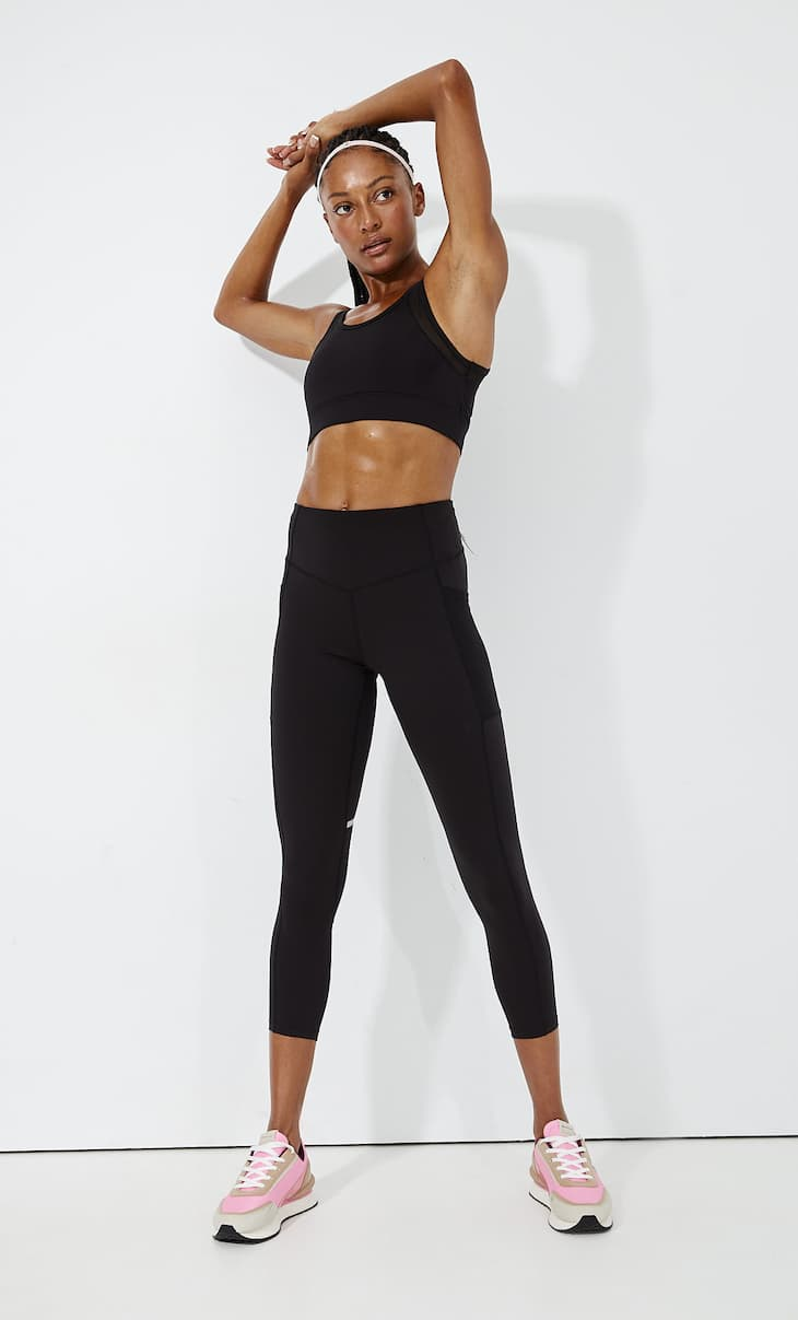 Cool touch seams leggings