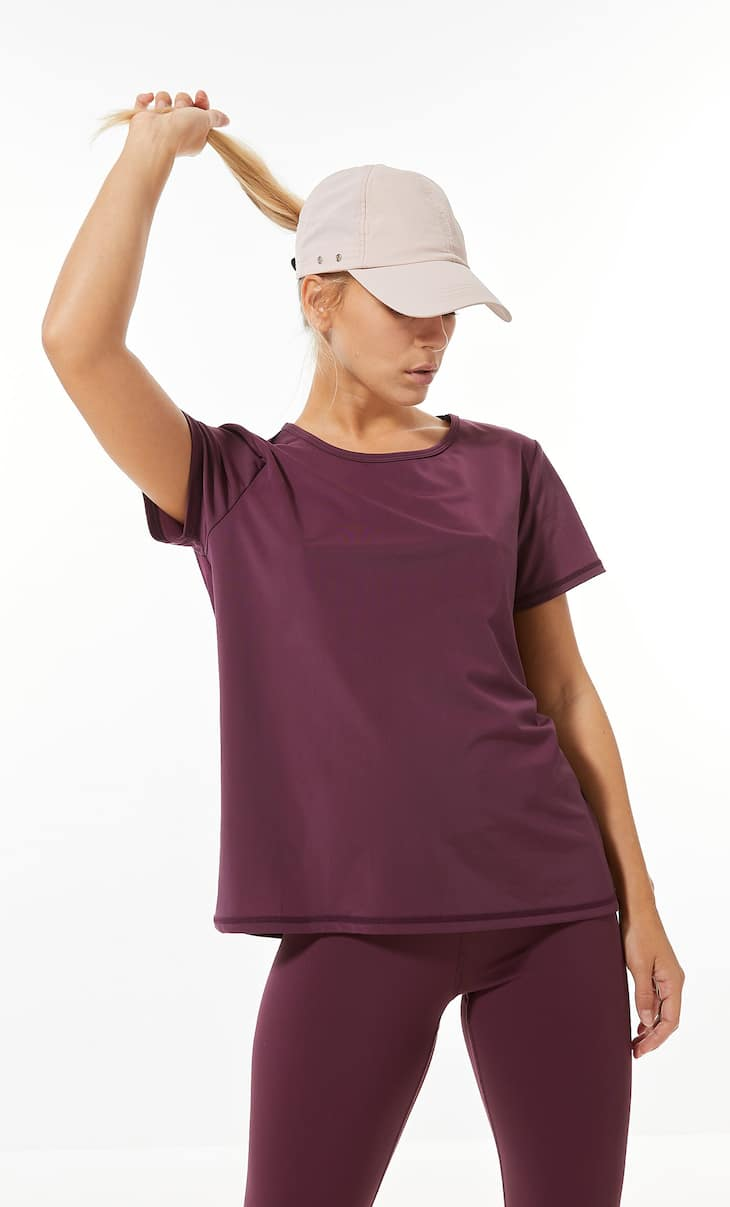 Cool touch technical sports T-shirt