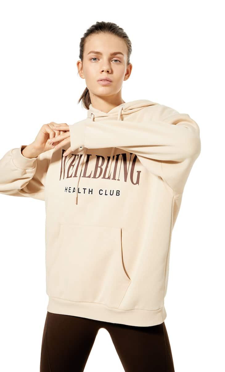 Oversize-Sweatshirt mit Kapuze