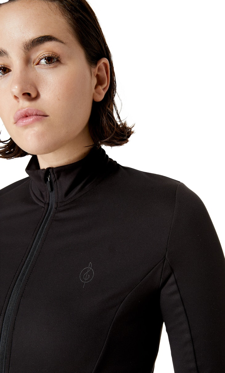 Soft touch sports jacket
