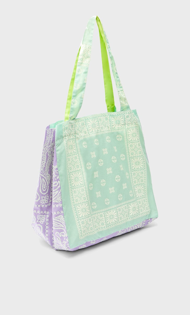 Shopper mit Paisleymuster