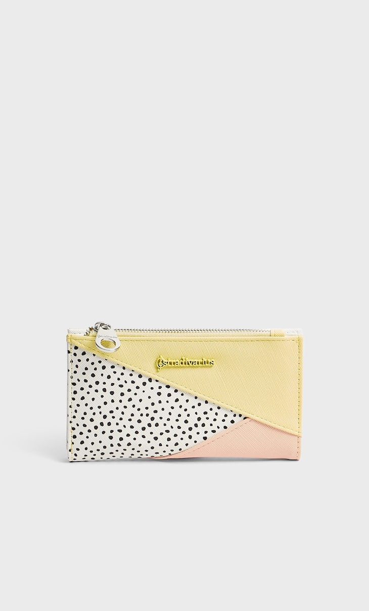 Basic patchwork purse