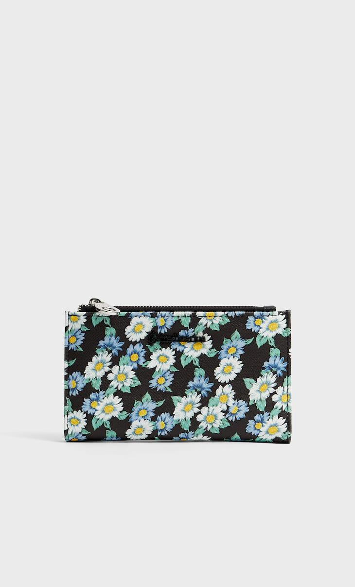 Basic printed purse