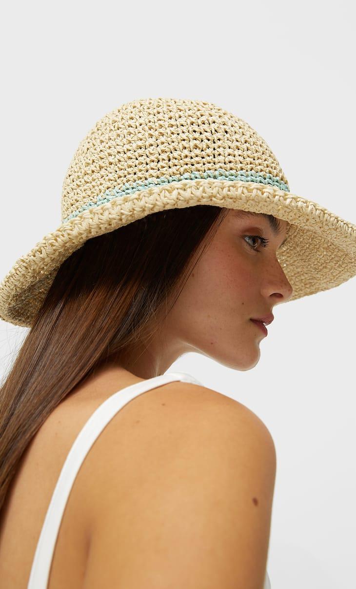 Ажурная шляпа
