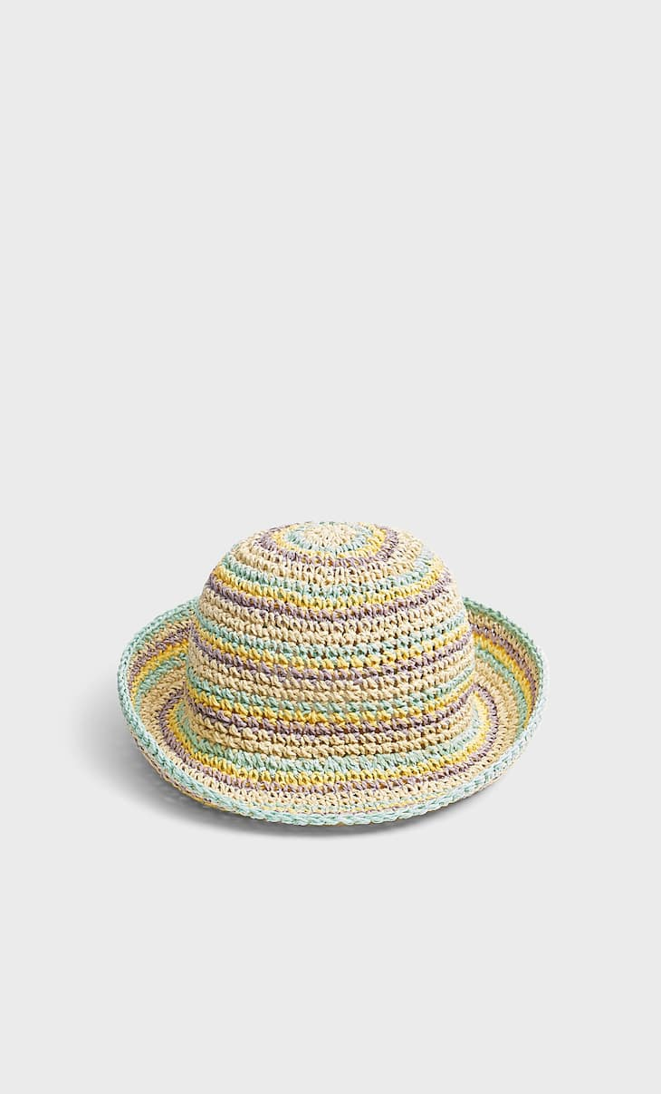 Multi-striped hat