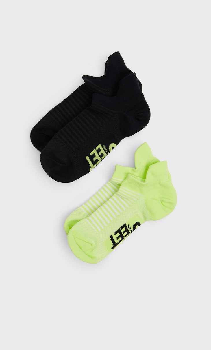 2-pack of STR-EET sports socks