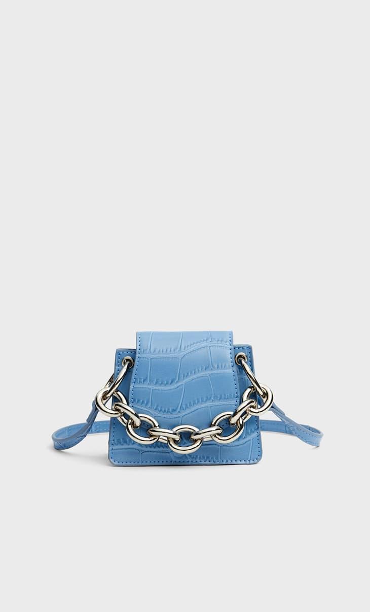 Mini-sac avec chaîne